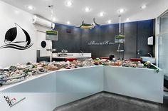 Pescadería - diseño de pescaderías - paradas de mercado - poissonnerie - poissonnier - pescheria