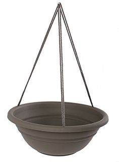 Bloem MBHB15176012 12Pack Milano Hanging BasketPlanter 17Inch Peppercorn *** Details can be found by clicking on the image.
