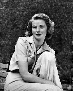 Ingrid Bergman  So very beautiful.