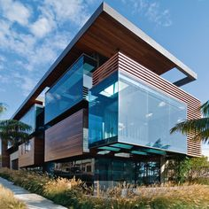 Best Ideas For Modern House Design Architecture Picture Description Love This Combination Of Wood And Glass In Modern Home
