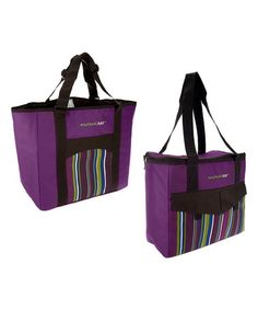 Purple Rachael Ray Deluxe Chillout-2-Go Tote - Set of Two #zulily #zulilyfinds