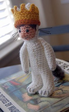 Ravelry: Where the Wild Things Are MAX amigurumi pattern by Allison Hoffman. crochet. childrens books. kids. $4.99 patterns for the other wild things are available too!