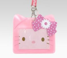 what a cute ID holder
