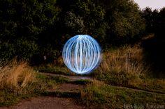 Ball of light - Spaarnwoude - Trouwfotografie Freya & Peter Welp