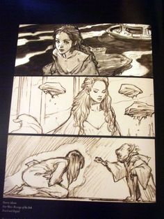 Shadowline: The Art of Iain McCaig . Character Sketch / Drawing Illustration Inspiration