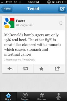 #McDonalds is not an option if you are living a #healthyeating lifestyle!