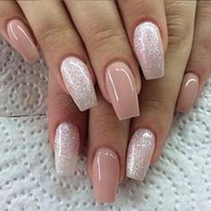 There are three kinds of fake nails which all come from the family of plastics. Acrylic nails are a liquid and powder mix. They are mixed in front of you and then they are brushed onto your nails and shaped. These nails are air dried. Nail Designs 2015, Cool Nail Designs, Sparkly Nail Designs, Latest Nail Designs, Fall Designs, Fingernail Designs, Awesome Designs, Floral Designs, Prom Nails
