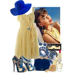 """Miss Sunshine"" by sharpaytisdale on Polyvore"