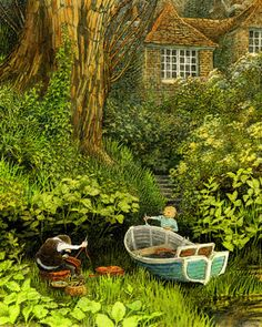 Wind in the Willows-Inga Moore, illustrations