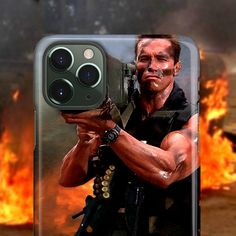 Arnold Schwarzenegger iPhone 11 Pro Max Case Commando iPhone 11 Pro Case Bazooka iPhone 11 Case Funny Rocket Launcher hommes cadeaux mari - Want It - Permanent Retainer Iphone 11 Pro Case, Best Iphone, Iphone Cases, Apple Iphone, Meme Show, Paparazzi Photos, Buy Apple, Digital Trends, Arnold Schwarzenegger