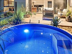 Allcast Precast Photo Gallery | Concrete Water Tanks, Plunge Pools, Septic Tanks, Treatment Systems, Agricultural Products, Retaining Walls Small Backyard Pools, Small Pools, Outdoor Spa, Outdoor Showers, Outdoor Ideas, Stock Tank Pool, Pool Images, Swimming Pool Designs, Swimming Pools