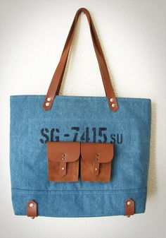 Denim bag Printed bag Tote bag leather handles   #jeansbag, #denimbag, #jeansbackpack, #denimbackpack, #totebag, #handmadebag, #leatherhandlebag, #snazzygoods, #snazzygoodsbags, #snazzygoodsbackpack