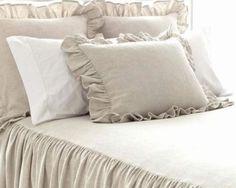 Pine Cone Hill Wilton Natural Bedspread