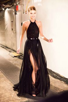 Gorgeous black tie event dress