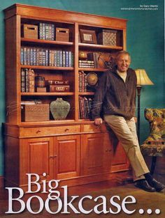 #2955 Building Bookcase - Furniture Plans