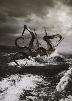Kraken by sayedtoa.deviantart.com on @DeviantArt