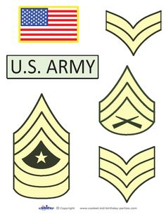 Printable Army Ranks Coolest Free Printables
