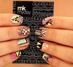 ..trival nails nail art