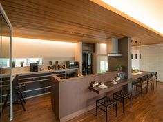 Kitchen Interior, Kitchen Design, Natural Interior, Kitchen Pantry, Home Kitchens, My House, Furniture Design, House Design, Living Room