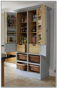 Free Standing Kitchen Pantry Units More
