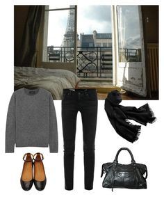"""""""Untitled #66"""" by cloudeprudis ❤ liked on Polyvore featuring interior, interiors, interior design, home, home decor, interior decorating, AG Adriano Goldschmied, Isabel Marant, Balenciaga and Cole Haan"""