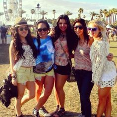 coachella post   the girls