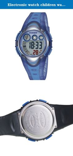 Electronic watch children watch / Girls Boys Watches / waterproof sports watch / running high school students watch-light blue 1. Watches Mirror Material: plexiglass mirror Movement Type: Electronic Watch Type: Children Style: Cute Strap Material: Rubber Shape: Round display: digital waterproof depth: 30 meters life waterproof additional features: 24 hours indicates the calendar alarm table debit formula: buckle bottom of the table type: crown type: dial thickness: 14mm dial diameter…