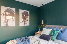 Dulux Australia, Bedroom Wardrobe, Guest Room, Paint Colors, Gallery Wall, Colours, Building, Instagram Posts
