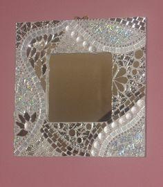 Rebecca's mirror   mirror, textured mirror, tiles, TG, nugge…   Flickr
