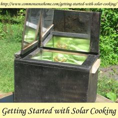 Solar Cooking Basics - Simple Solar Cooker Designs, How to Cook Food in a Solar Oven, Basic Solar Cooking Recipes to get you started.
