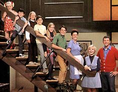 The Brady Bunch.  Such a clean and crisp show. But I dont advise you to answer the door.