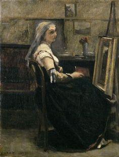 Corot L'Atelier - Musée des Beaux Arts de Lyon