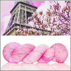 Expression Fiber Arts, Inc. - A DAY IN PARIS 'RESILIENT' SUPERWASH MERINO SOCK YARN, $24.00 (http://www.expressionfiberarts.com/products/a-day-in-paris-resilient-superwash-merino-sock.html)