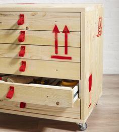 So verwandeln Sie ein einfaches Ikea- Schubladenelement in einen echten Blickfang.