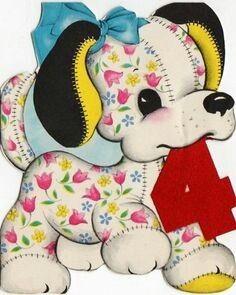 Stuffed flower puppy