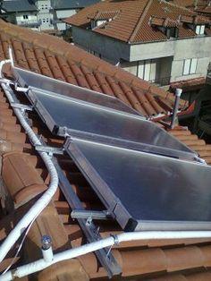 Ηλιοθερμικό σύστημα για παραγωγή ζεστού νερού χρήσης σε ξενοδοχείο στους Νέους Πόρους Πιερίας (Δ. Μανώλας)