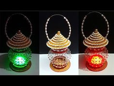 How to make Lantern/Lamp/Tealight Holder from Plastic Bottle Recycled Crafts, Recycled Materials, Diy And Crafts, Plastic Bottle Crafts, Recycle Plastic Bottles, Diy Eid Decorations, How To Make Lanterns, Lantern Making, Diy Lampe