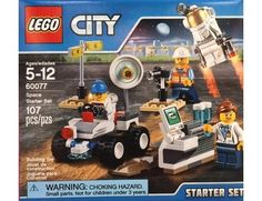 The Lego City Space Starter Set - a great selection of Lego construction sets at Wonderland Models.