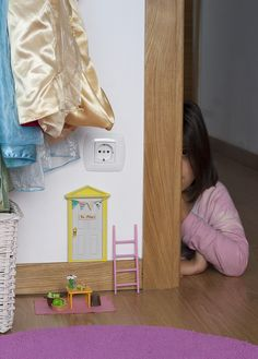 Doll House Play, Diy Fairy Door, Candy Games, Tooth Fairy, My Room, Doors, Children, Creative, Gifts