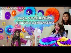 See And Be Seen: Faça Você mesmo - Decoração para Festas : Circulo Sanfonado!