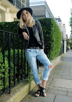 #ways to #style #black #leather #jacket