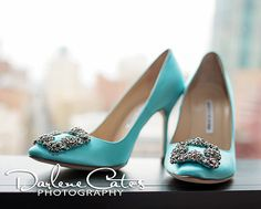 Fort Worth Bridals, MANOLO BLAHNIK, All about the shoes, Turquoise Wedding Shoes, Tiffany Blue Shoes