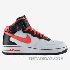 new styles f9399 815c8 Nike Air Force 1 Mid Shoes PinkWhiteBlack Online, Price 54.71 - Adidas  Shoes,Adidas Nmd,Superstar,Originals