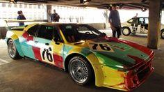 BMW Art Drive - Andy Warhol 1979