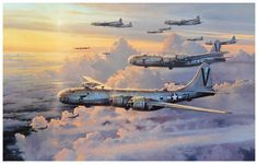 Valor in Pacific, by Robert Taylor (Boeing B-29 Superfortress)