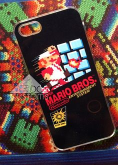 Protect your tech in STYLE with awesome video game phone case!    Available for iPhone 4 / iPhone 5 / Galaxy S3 / Galaxy S4.    Crispy bright image on a slim, hard case. Let your phone cover do all the talking.    ============    We keep it funky & fresh! Each case is handmade with a unique dye t...