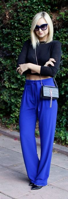 Velvet Blues Chic Style by Late Afternoon