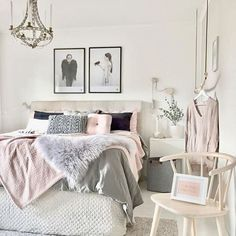 Gorgeous 46 Modern and Stylist Scandinavian Bedroom Decor https://homadein.com/2017/06/16/46-modern-stylist-scandinavian-bedroom-decor/