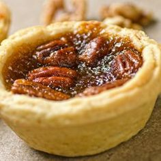 Pecan Butter Tarts Recipe from Grandmother's Kitchen