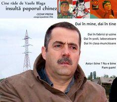 Cezar Preda: cine râde de Vasile Blaga, râde de poporul chinez Pam Pam, Romania, Fictional Characters, Movies, Biology, Fantasy Characters